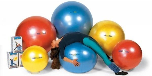 гимнастический мяч упражнения