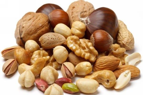 орехи в меню