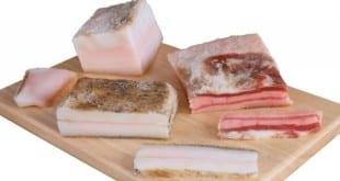 Чем вреден и полезен свиной жир