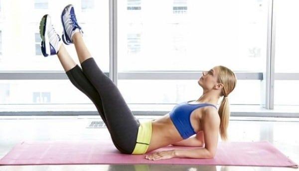 избавиться от пивного живота упражнения