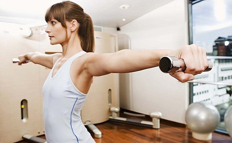 спортивный инвентарь для упражнений дома