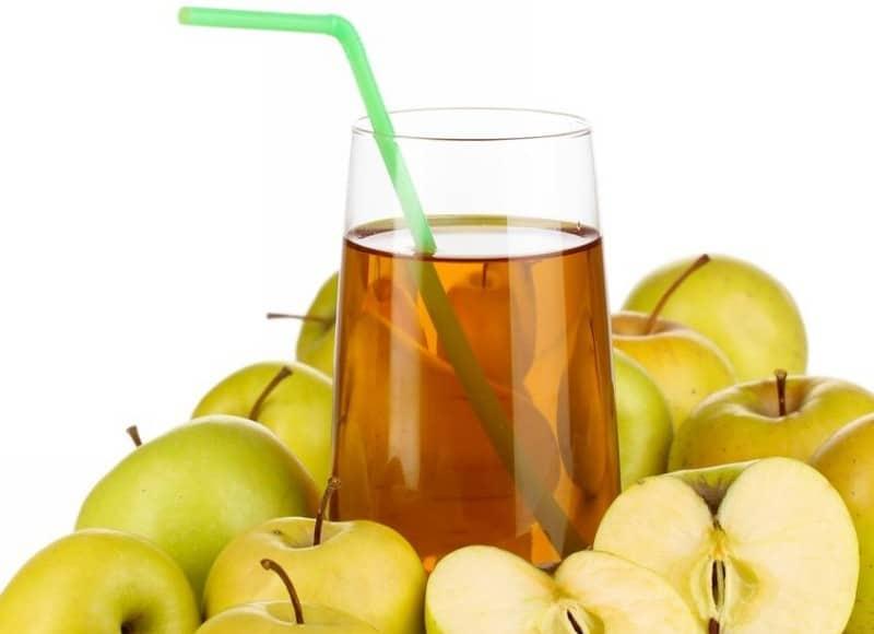 очищение организма яблоками