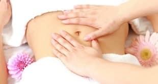 Китайский точечный массаж для похудения живота