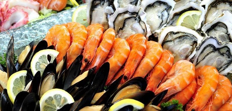 Морепродукты, содержащие ненасыщенные жиры