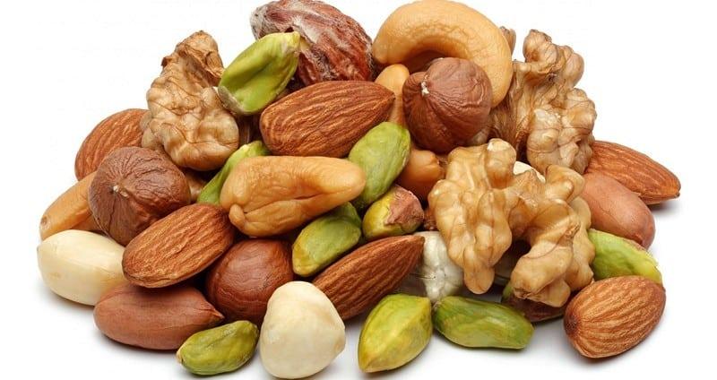 Орехи с ненасыщенными жирами