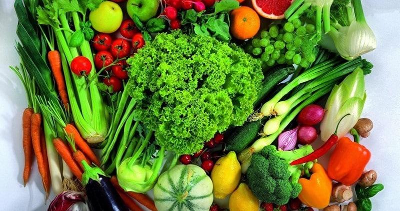 низкокалорийные продукты овощи