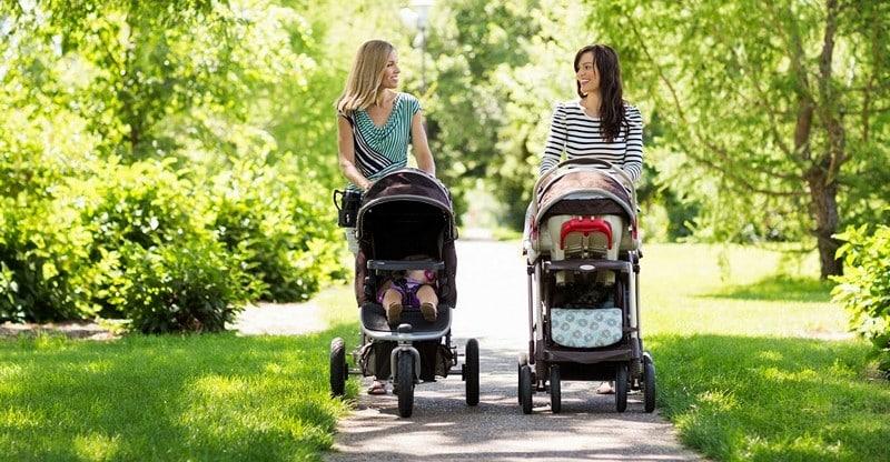 прогулки с коляской для похудения