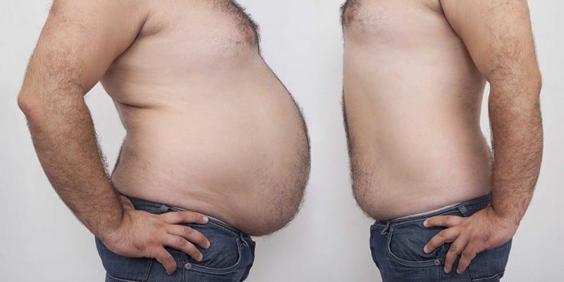 Как убрать жир с живота у мужчины