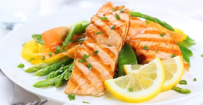 продукты с низким содержанием жира рыба