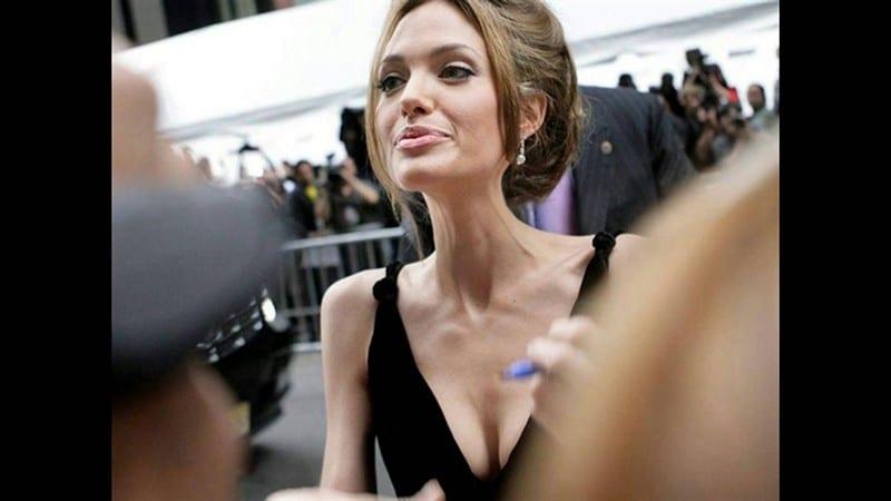 Анджелина Джоли похудела благодаря грудному вскармливанию