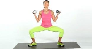 Приседания сжигают жир: упражнения для ног и ягодиц