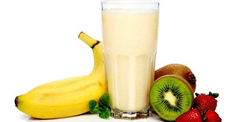коктейли для похудения с бананом