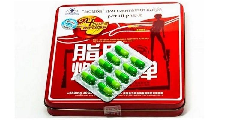таблетки бомба для похудения