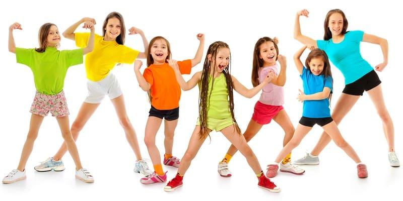 гимнастика для похудения для детей