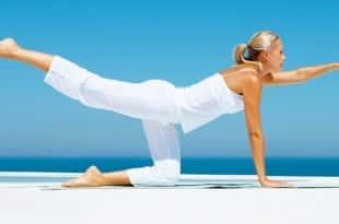 Гимнастика йоги для похудения