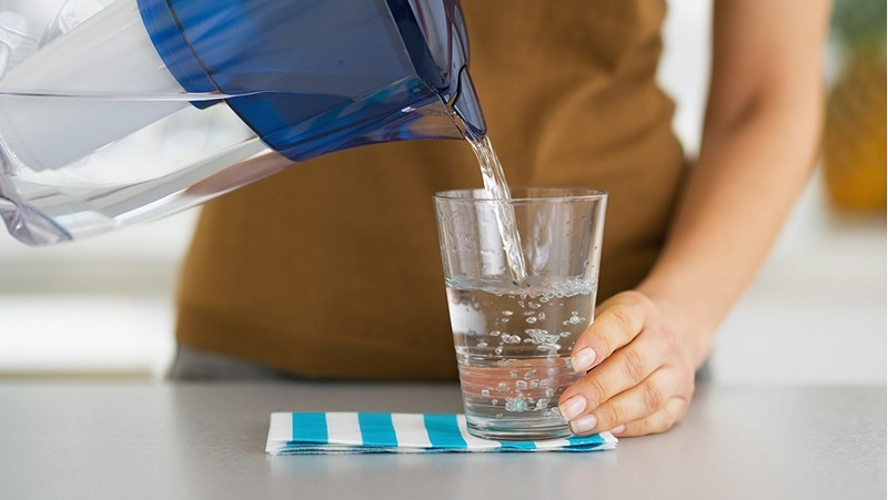 как пить воду
