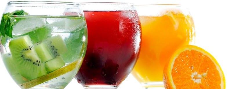 напитки коктейли сиропы