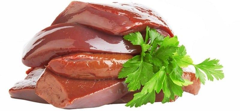 Печень свинная и говяжья