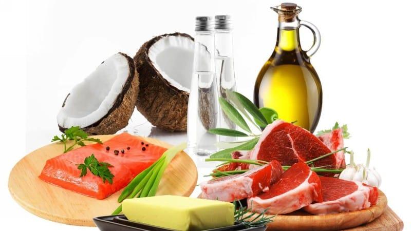 Нужное количество белков, углеводов и жиров