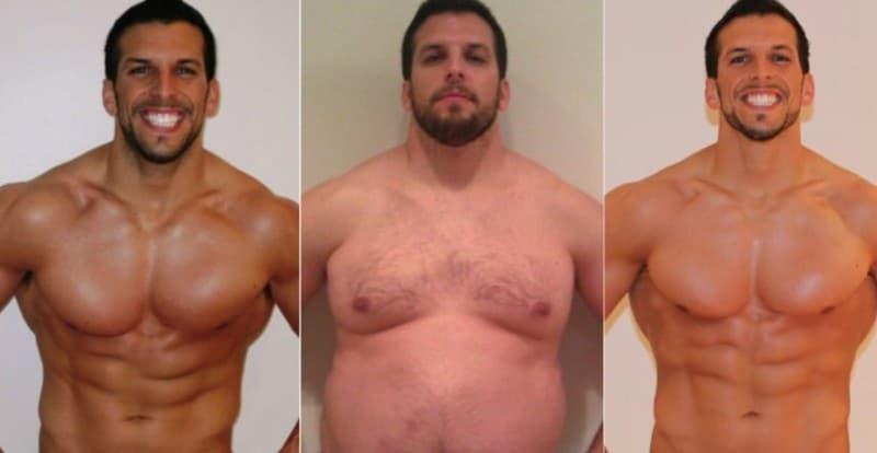 Изменения веса Дрю Меннинга