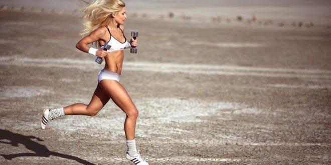 как бегать чтобы похудел живот
