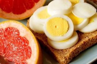 Яично - грейпфрутовая диета: от 3 дней до 4 недель