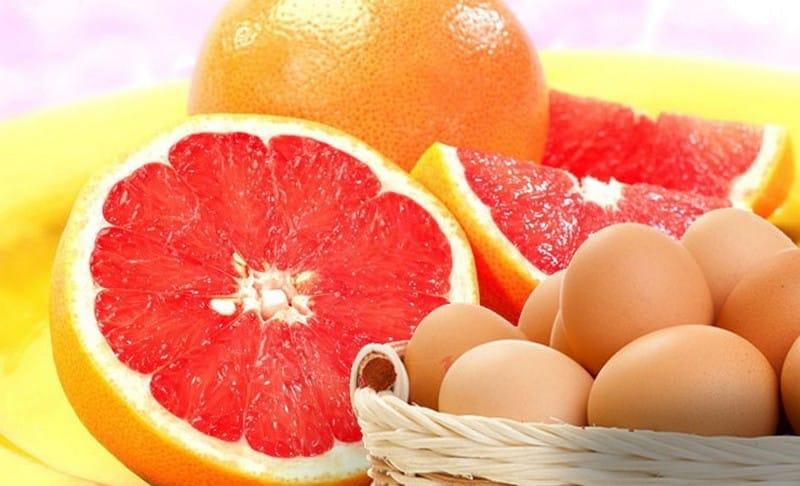 диета яйца с грейпфрутом