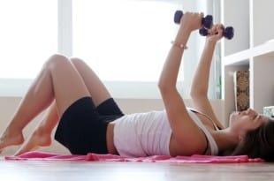 Домашняя гимнастика для похудения