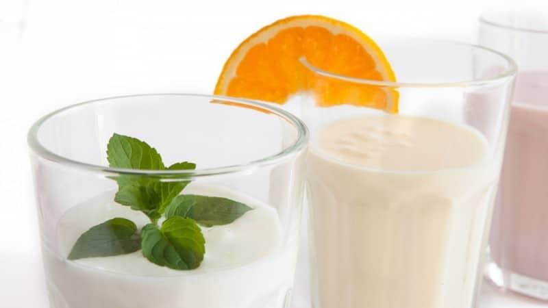 рецепт молочных коктейлей