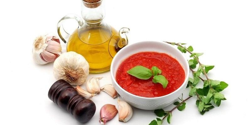 здоровое питание соусы