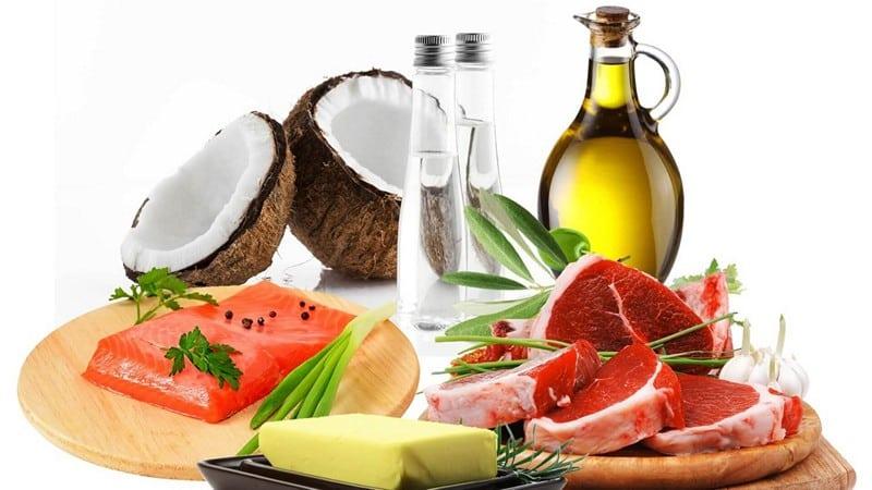 виды диеты с высоким содержанием жиров