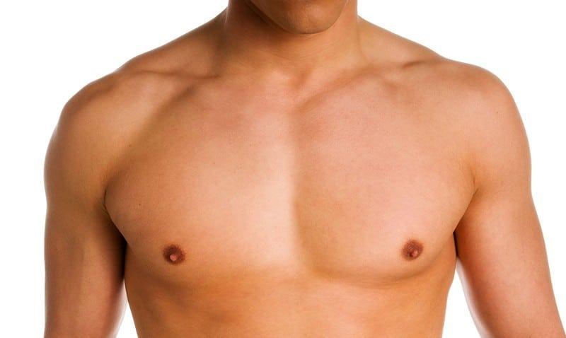 липосакция груди фото до и после