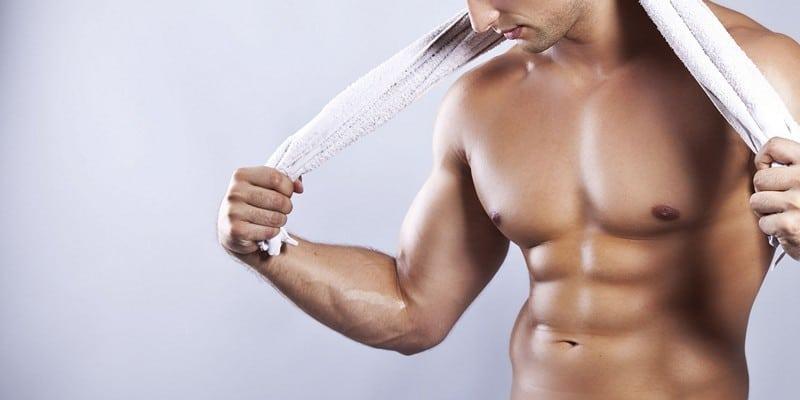 Убрать жир с грудных мышц у мужчин