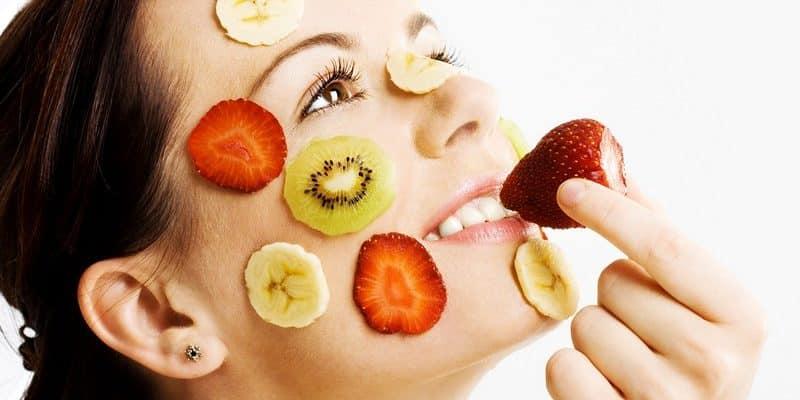 Продукты для здоровой кожи