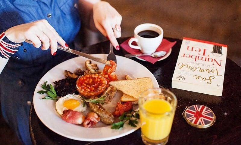 английская диета меню