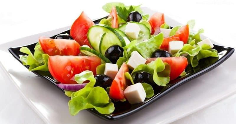 греческая диета меню