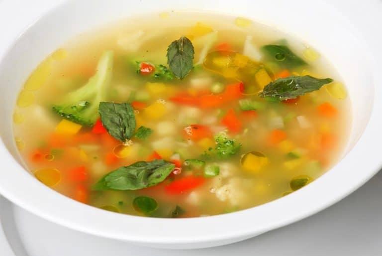 Овощной суп рецепт с фото