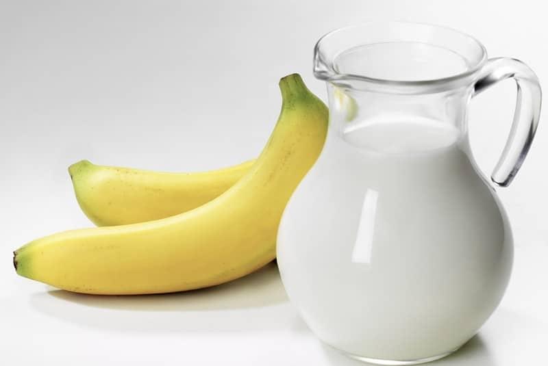 Бананово молочная диета меню