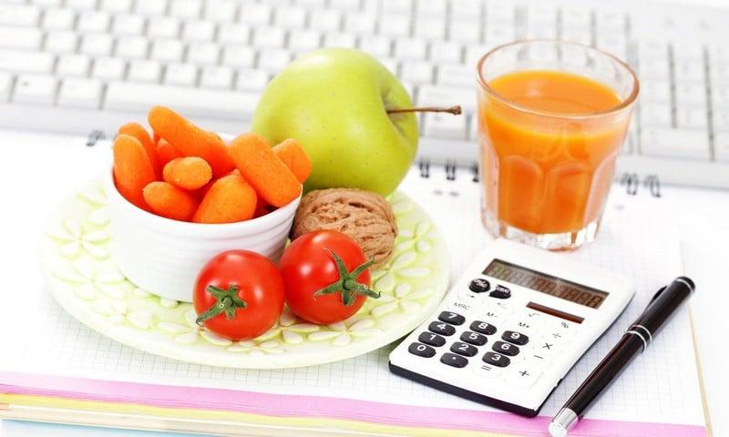 диета 1500 калорий меню