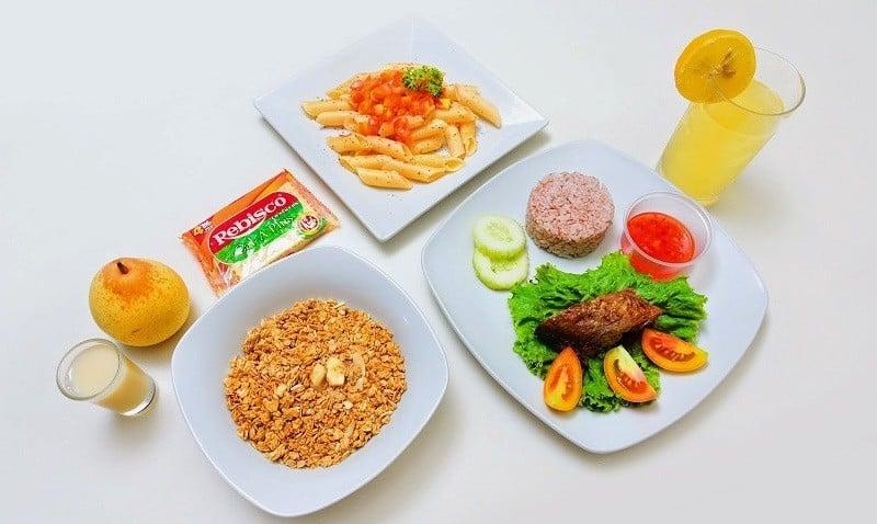 Диета на 1600 калорий в день меню