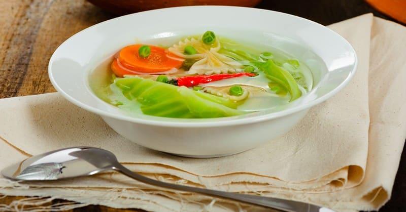диета на капустном супе меню