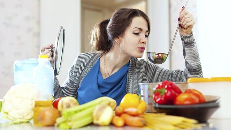 Диета на овощном супе