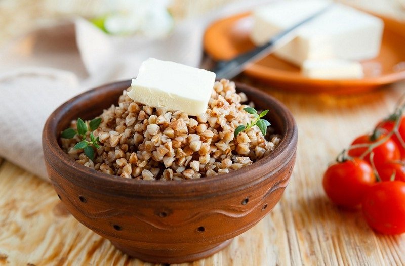 калорийность гречневой каши 100 грамм