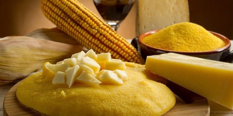 кукурузная каша калорийность