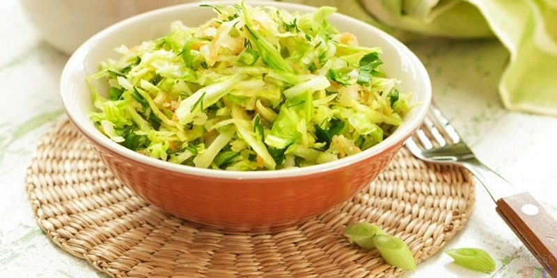 Капустная диета рецепты салата
