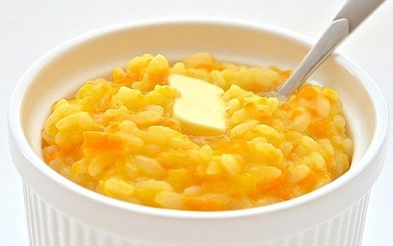 калорийность кукурузной каши на воде маслом