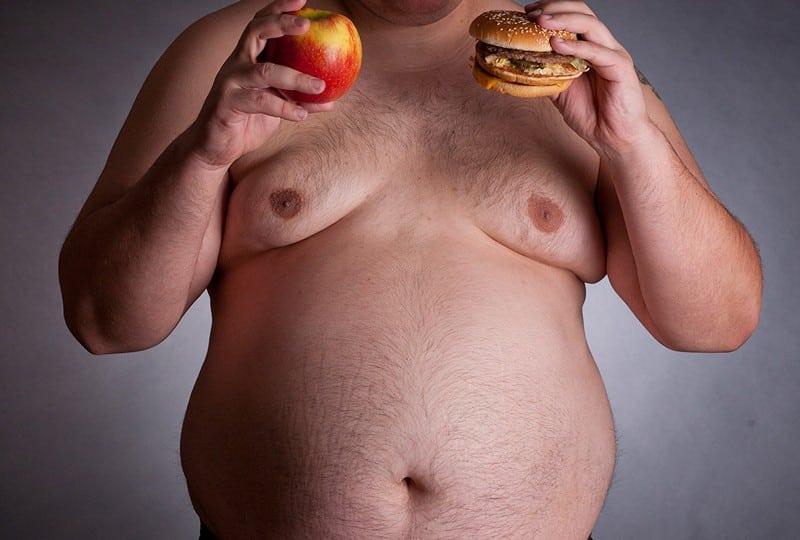 Ожирение у мужчин типы