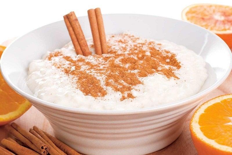 калорийность рисовой каши на молоке с сахаром