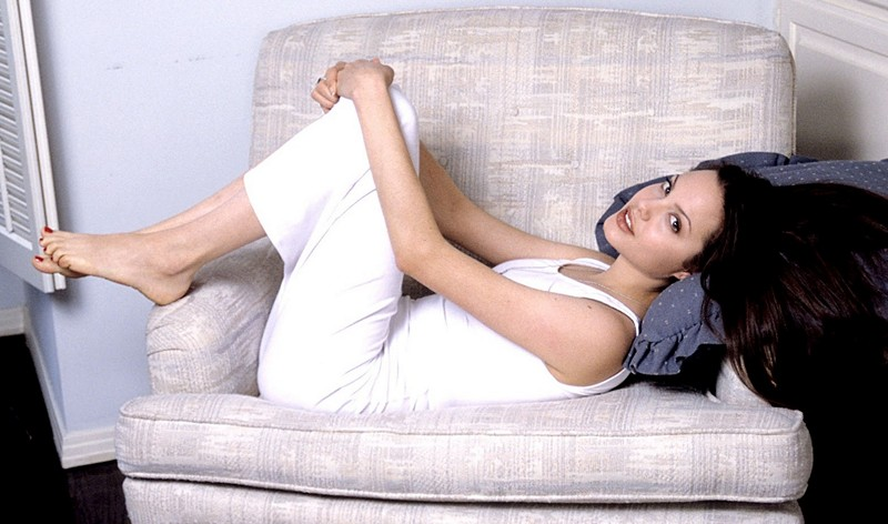 Анджелина Джоли после родов