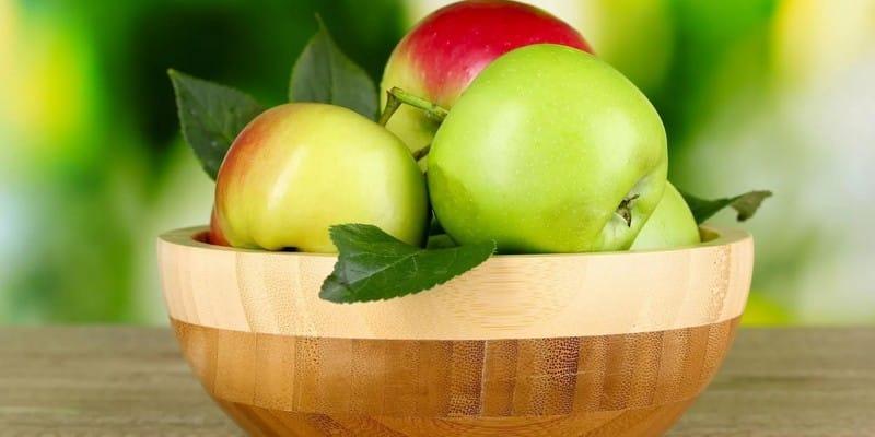 Яблоко калорийность на 100 грамм вареной